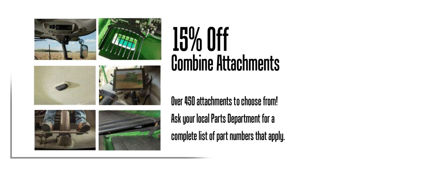 Combine Attachment Offer